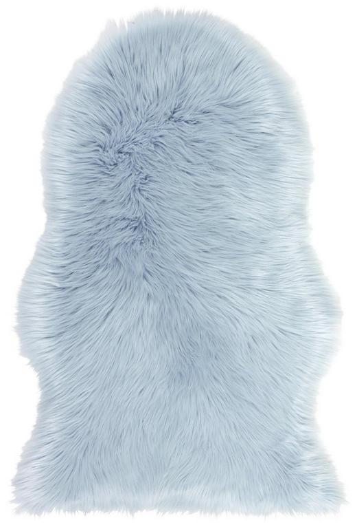 KUNSTFELL  60/90 cm  Blau - Blau, Trend, Textil (60/90cm) - Boxxx
