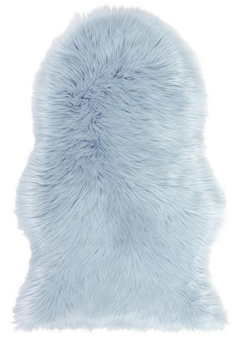 UMJETNO KRZNO  plava     - plava, Trend, tekstil (60/90cm) - Boxxx