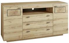 SIDEBOARD 175/98/47 cm  - Buchefarben/Graphitfarben, KONVENTIONELL, Holzwerkstoff/Metall (175/98/47cm) - Cantus