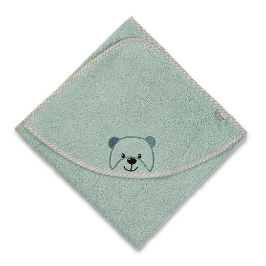 KAPUZENBADETUCH - Grün, Basics, Textil (100/100/0,5cm) - Sterntaler