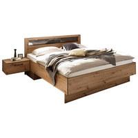 POSTELOVÁ SESTAVA - barvy dubu, Konvenční, kov/kompozitní dřevo (180/200cm) - Xora