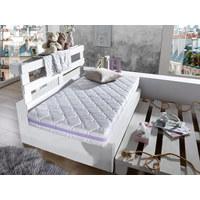 Kinderbettmatratze Sternenmeer - Weiß, Basics, Textil (70/140cm) - Träumeland