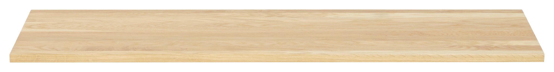 OBERPLATTE  Holz  Eichefarben - Eichefarben, Design, Holz (120/2/42,1cm) - MODERANO