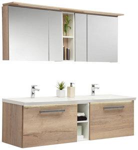 Badmobel Set Doppelwaschtisch 170 Spiegelschrank