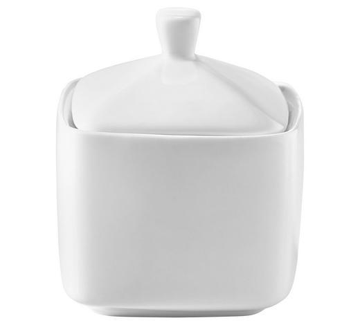 CUKŘENKA - bílá, Basics, keramika (8/10cm) - Novel