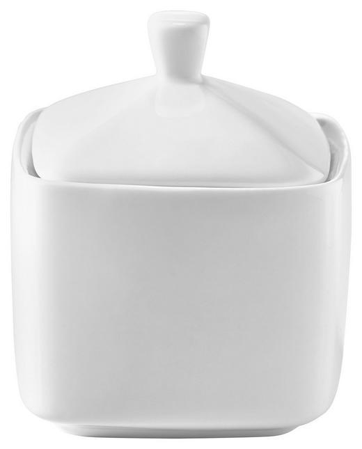 ZUCKERDOSE Keramik - Weiß, Basics, Keramik (8/10cm) - Novel