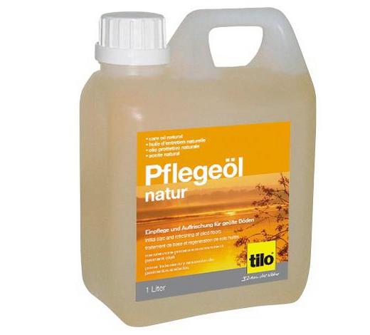 BODENPFLEGEMITTEL oxidativ geölte Oberflächen, Parkett - Transparent, Basics (1l) - Tilo