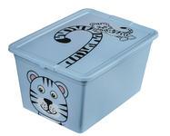 SPIELZEUGBOX 48,5/36/25 cm  - Blau, Basics, Kunststoff (48,5/36/25cm) - My Baby Lou