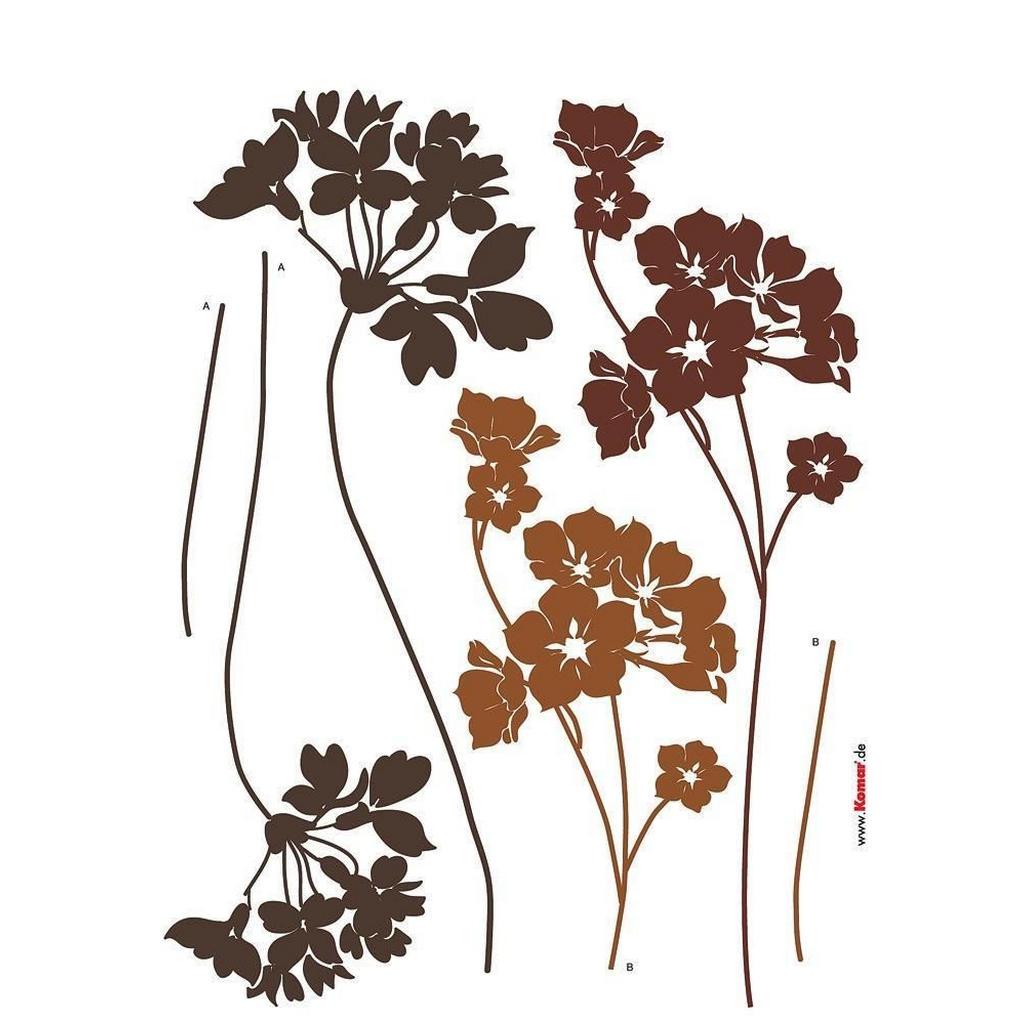 XXXLutz Blumen dekosticker