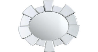 OGLEDALO, 43/30/2 cm steklo  - prozorna, Design, steklo (43/30/2cm) - Xora