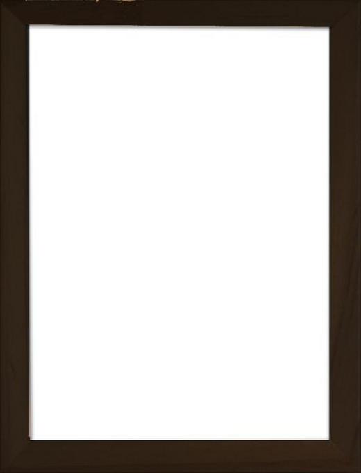 BILDERRAHMEN in Schwarz - Schwarz, Basics, Glas/Holz (43/33/3cm)