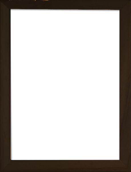 RÁM NA OBRAZY - černá, Basics, dřevo/sklo (43/33/3cm)