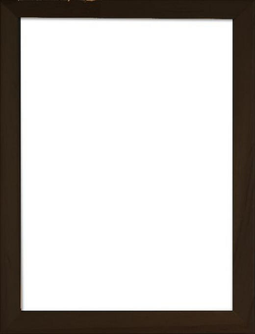 RÁM NA OBRAZY - černá, Basics, dřevo/sklo (40/50cm)