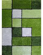 TEPIH VISOKOG FLORA - zelena, Konvencionalno, tekstil (80/150cm) - Novel