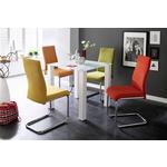 SCHWINGSTUHL in Textil Gelb  - Gelb, Design, Textil/Metall (43/96/59cm) - Carryhome
