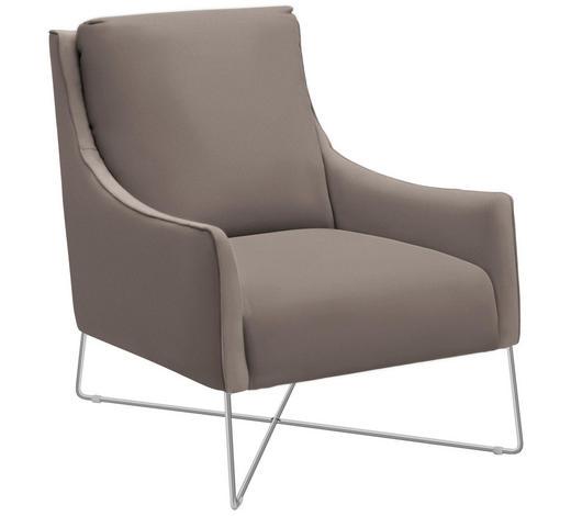 Sessel In Leder Taupe Online Kaufen Xxxlutz