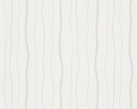 VLIESTAPETE 10,05 m - Dunkelgrün/Dunkelgrau, Design, Textil (53/1005cm)