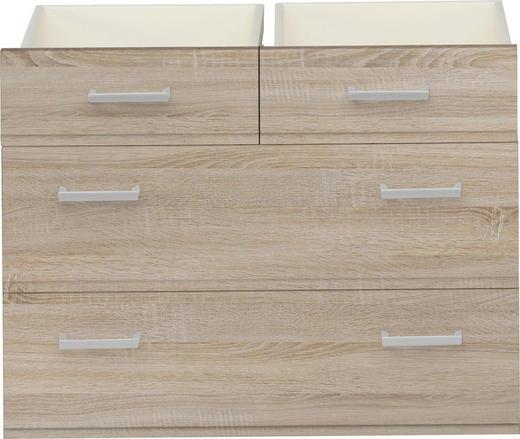 SCHUBKASTENEINSATZ Eichefarben - Eichefarben, Design (68/51/32cm) - CS SCHMAL