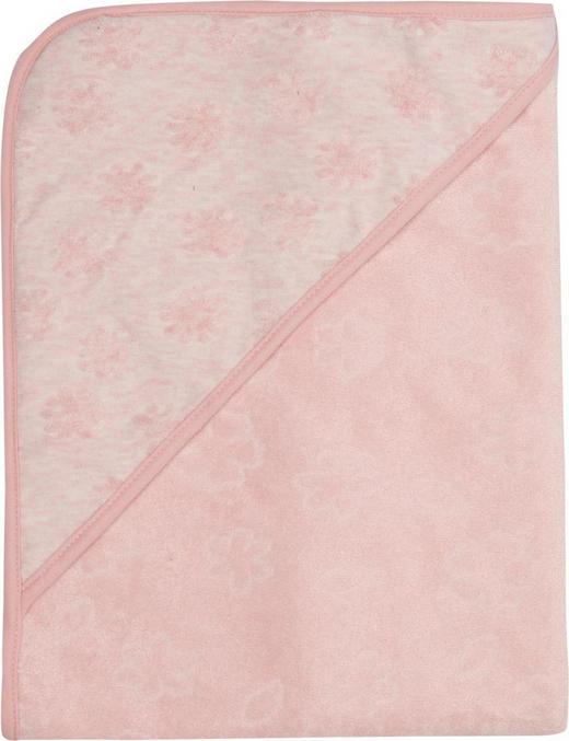KAPUZENBADETUCH - Rosa, Textil (85/75/1cm) - Bebe Jou