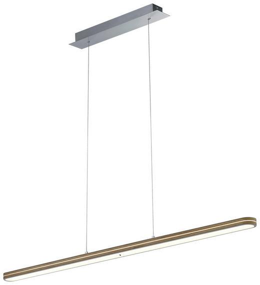 HÄNGELEUCHTE - Birkefarben, Design, Metall (120cm) - Dieter Knoll