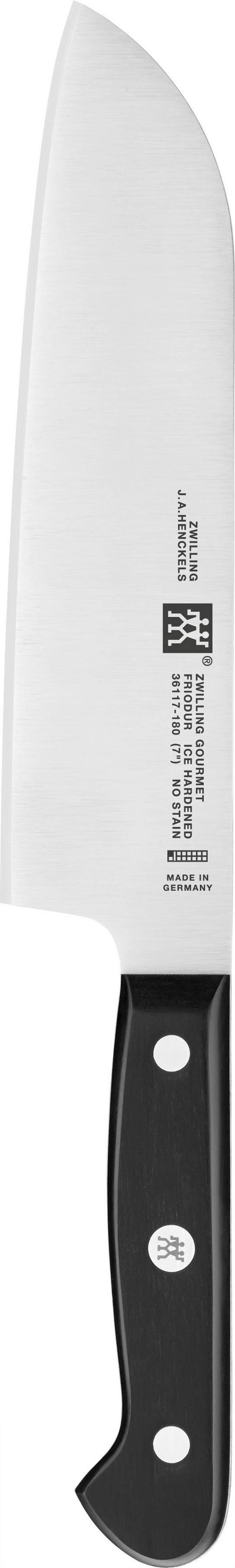 SANTOKUMESSER - Silberfarben/Schwarz, Basics, Kunststoff/Metall - Zwilling