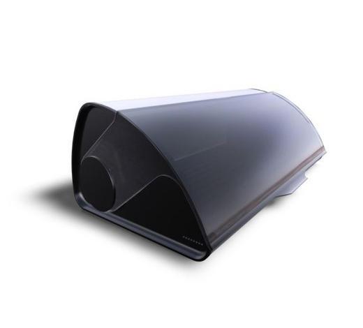 BROTKASTEN - Anthrazit, Design, Kunststoff/Metall (47cm) - WMF