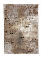 TKANA PREPROGA - siva/bež, Design, tekstil (133/190cm) - Novel