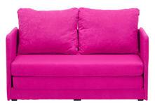 JUGEND- UND KINDERSOFA in Textil Pink  - Pink, MODERN, Textil (116/69/64cm) - Carryhome