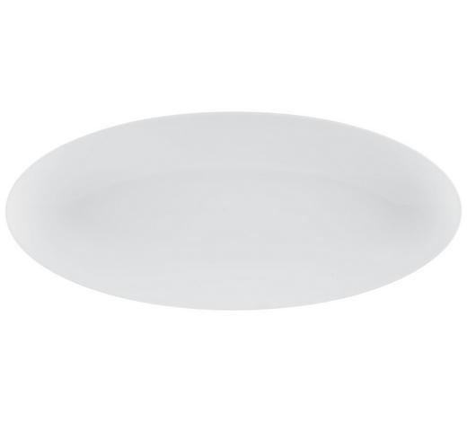 SERVIERPLATTE - Weiß, Design, Keramik (43/19cm) - Seltmann Weiden
