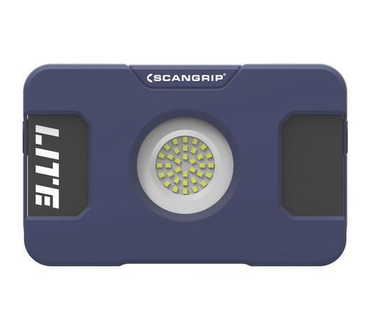 LED-BAUSTRAHLER FLOOD LITE S - Blau/Schwarz, KONVENTIONELL, Kunststoff (23,6/16,5/4,7cm)