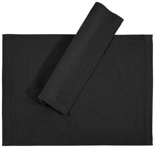 TISCHSET 33/45/ cm Textil - Schwarz, Basics, Textil (33/45/cm) - Novel