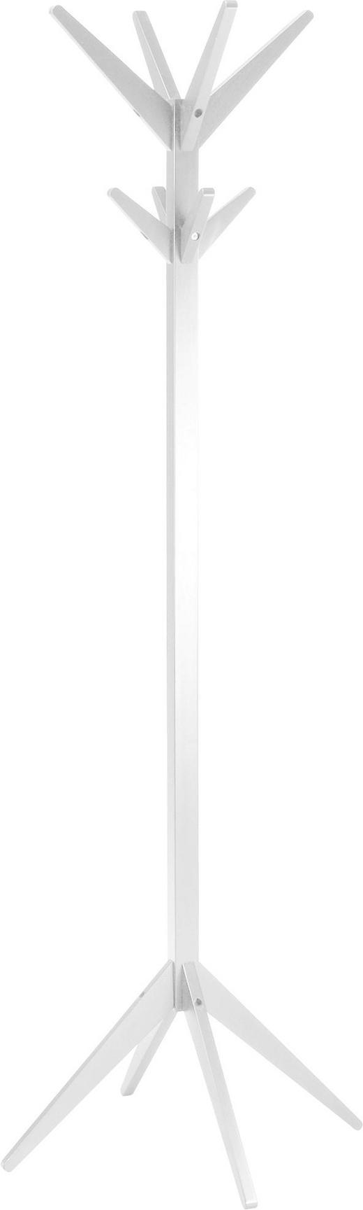 KLEIDERSTÄNDER 45/178/45 cm - Weiß, Trend, Holz (45/178/45cm) - Carryhome
