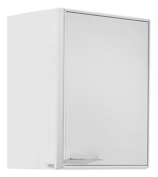 HÄNGEELEMENT Weiß - Chromfarben/Weiß, Design, Holzwerkstoff/Metall (57/75/42cm) - Hom`in