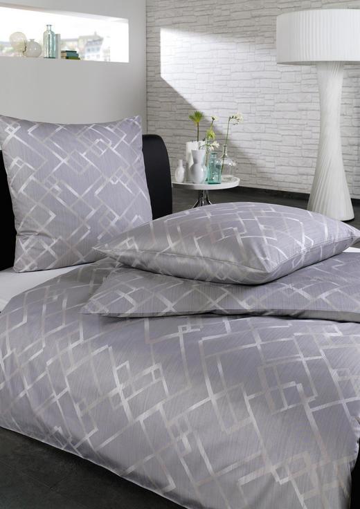 BETTWÄSCHE Interlock-Jersey Silberfarben - Silberfarben, Design, Textil (135/200cm) - Estella