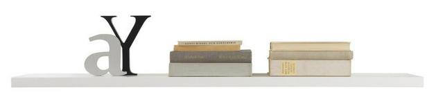 WANDBOARD in Weiß - Weiß, Design, Holz (110/2,8/18cm) - Xora