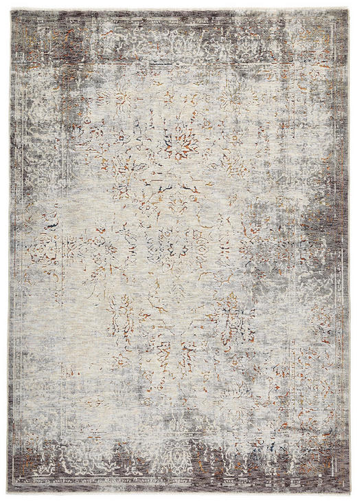 VINTAGE-TEPPICH  160/230 cm  Beige, Grau - Beige/Grau, Design, Textil (160/230cm) - Novel