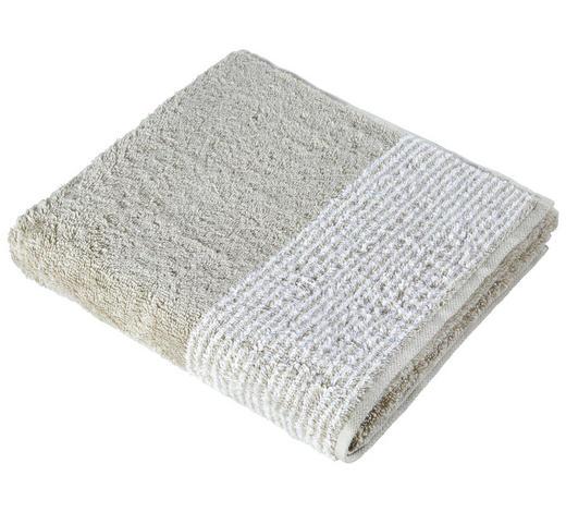 HANDTUCH 50/100 cm - Sandfarben, KONVENTIONELL, Textil (50/100cm) - Cawoe