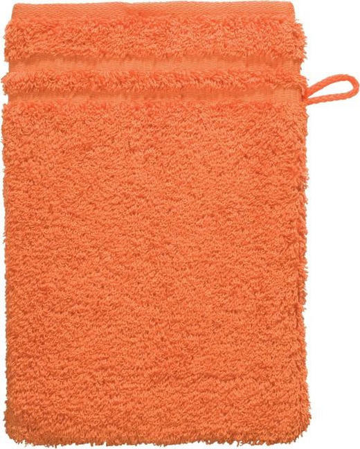 WASCHHANDSCHUH  Orange - Orange, Basics, Textil (22/16cm) - Vossen