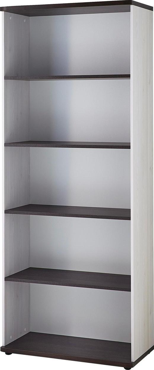 AKTENREGAL Eichefarben, Lärchefarben - Eichefarben/Lärchefarben, Design, Holzwerkstoff/Kunststoff (80/199/38cm) - Carryhome