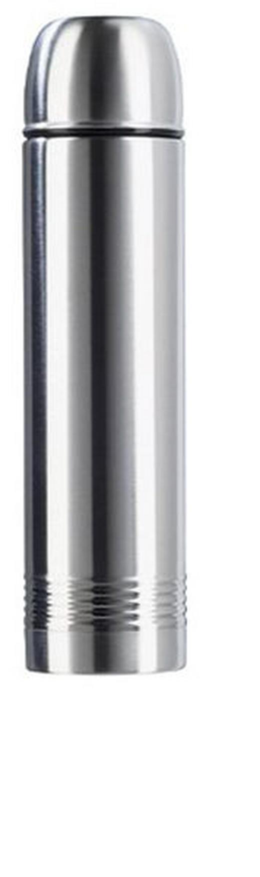 ISOLIERFLASCHE 0,7 L - Edelstahlfarben, Basics, Metall (0,7l) - Emsa