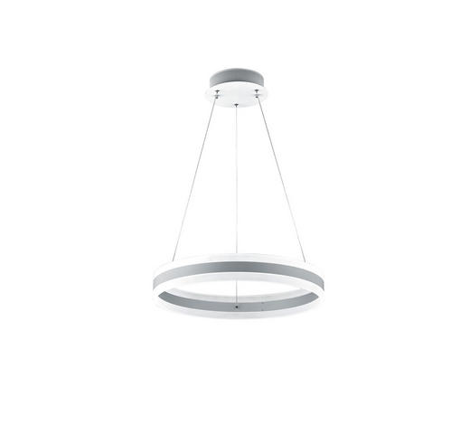 LED-HÄNGELEUCHTE - Weiß, Design, Kunststoff/Metall (60/180cm) - Helestra