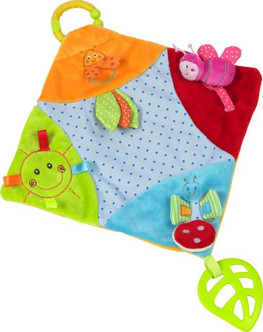 SCHMUSETUCH - Multicolor, Basics, Kunststoff/Textil (23/23cm) - My Baby Lou