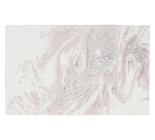 BADTEPPICH in Rosa 60/100 cm  - Rosa, Basics, Kunststoff/Textil (60/100cm) - Ambiente