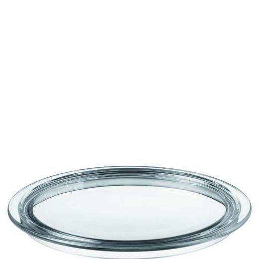 TORTENPLATTE - Klar, Basics, Glas (31,5cm) - LEONARDO