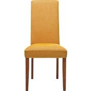 STUHL Webstoff Buche massiv Gelb, Buchefarben  - Gelb/Buchefarben, Design, Holz/Textil (48/100/47cm) - Kare-Design