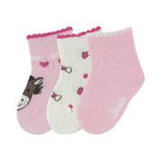 Babysöckchen 3er-Pack - Rosa, Basics, Textil (14null) - Sterntaler