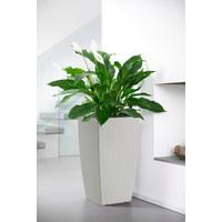 BLUMENTOPF - Weiß, Basics, Kunststoff (30/57/30cm) - Emsa