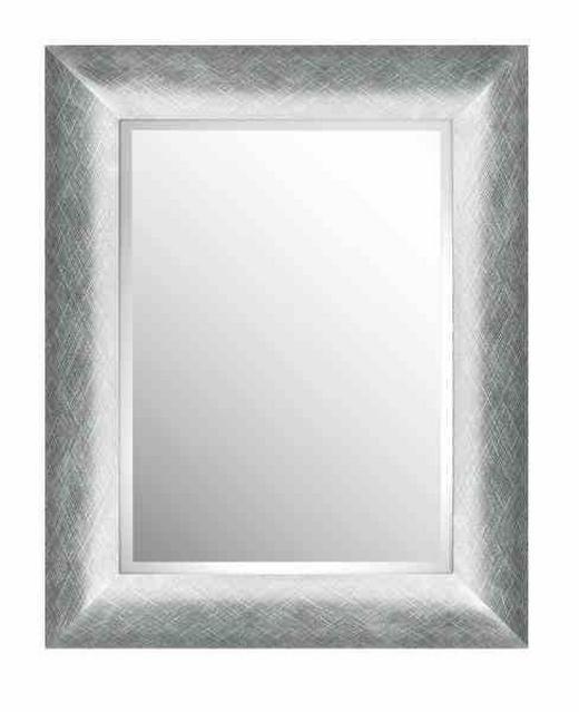 SPIEGEL - Silberfarben, LIFESTYLE, Glas/Kunststoff (43,8/53,8/2,5cm) - Landscape