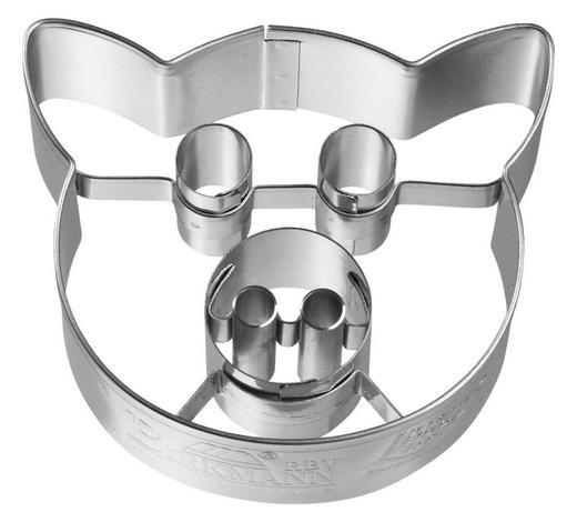 KEKSAUSSTECHFORM - Edelstahlfarben, Basics, Metall (6/2,5/5cm) - Birkmann