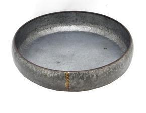 PLANTERINGSSKÅL - grå/guldfärgad, Basics, metall (52,5/11cm) - Ambia Home